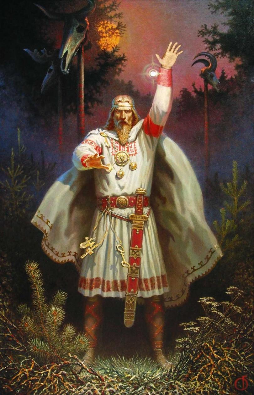 Кто создал мир: Версия славян