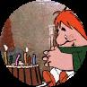 А что играло в твой день рождения?