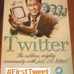 Каким был первый твит