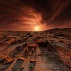 Видео заката на Марсе от NASA