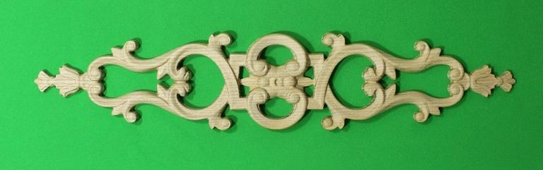 Резные элементы декора из дерева