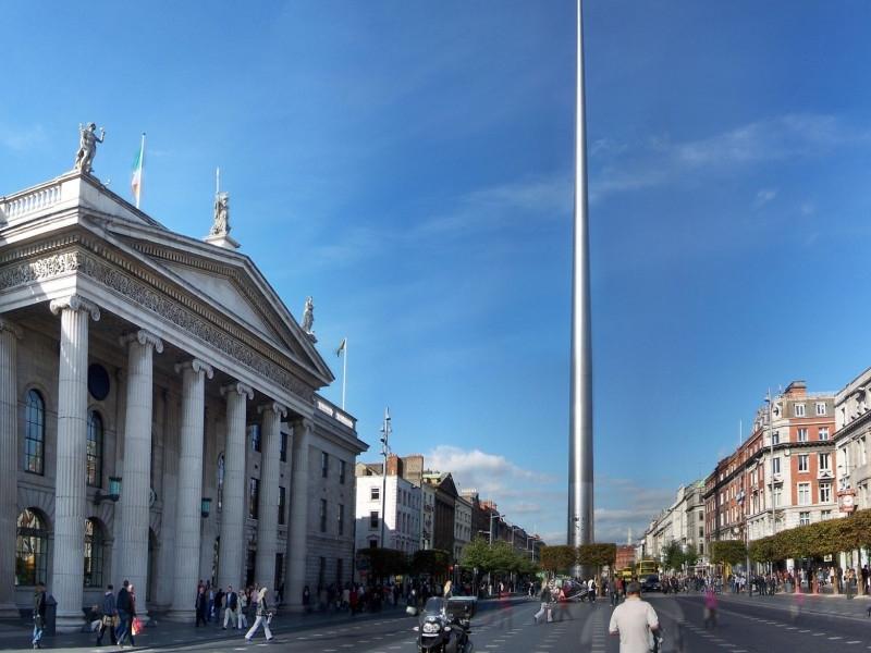 Сфотографируйся рядом с Дублинской иглой