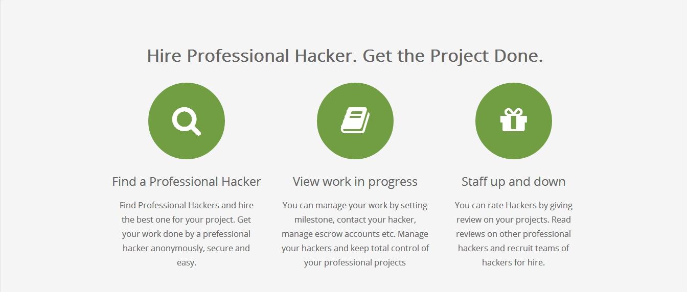 Hacker's List: Профессиональное хакерство за деньги