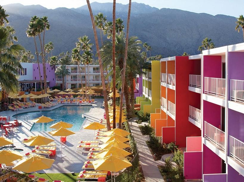 Самые красивые отели: Калифорнийский The Saguaro в Палм-Спрингс