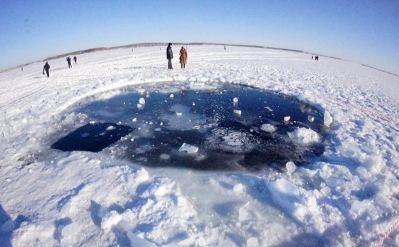 Ретроспектива: По следам Челябинского метеорита 2 года спустя