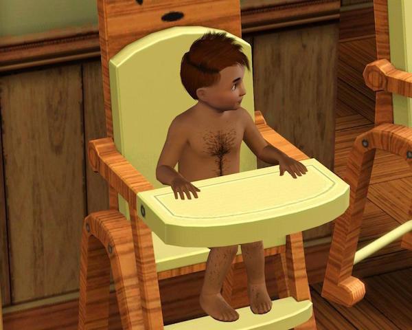 Реакция героев Sims на повседневные ситуации