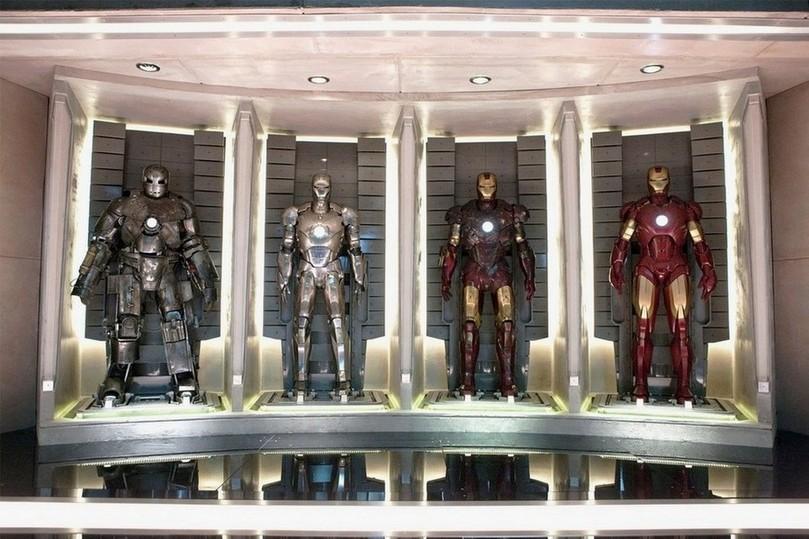 Все костюмы Железного человека