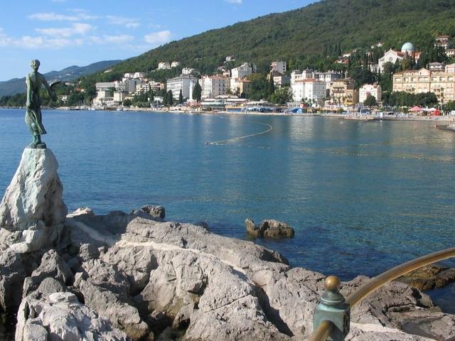 Без апатии в хорватской Опатии. Словно Крым из детских грез