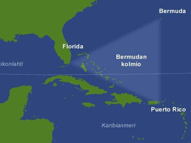 ТОП-5 тайн Бермудского треугольника. Самые невероятные исчезновения