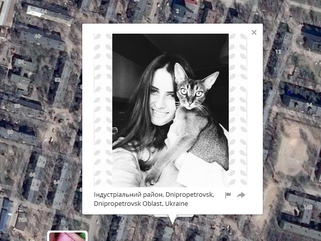 Я знаю, где живет твой котик. КотоКарты на основе GoogleEarth