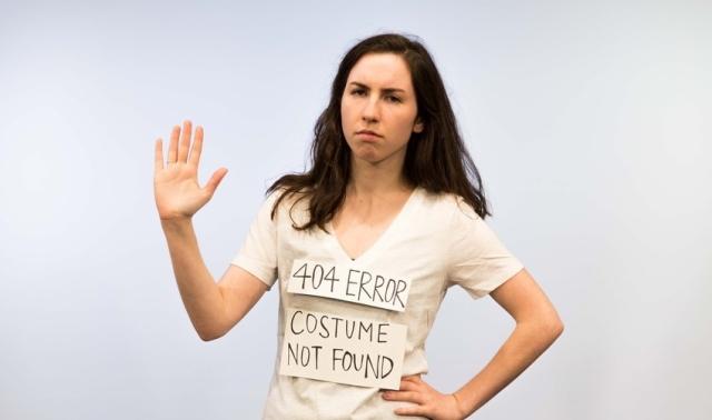 Приближается Хэллоуин? Как сделать костюм своими руками за пять минут