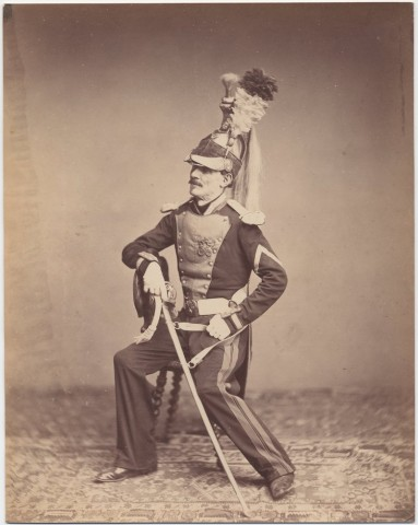 Monsieur Mauban 8th Dragoon Regiment 1815