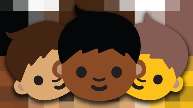Смайлики Emoji стали расово разнообразными – от африканцев, до азиатов