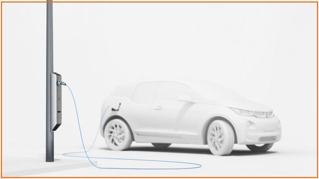 BMW запускает проект уличных фонарей с бесплатной зарядкой для электромобилей