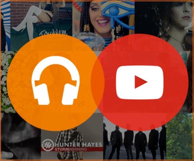 Музыкальный сервис YouTube от Google