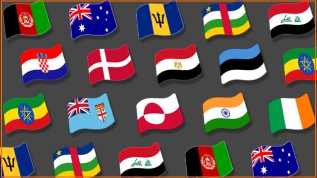 Обновление Emoji для Android – 209 новых флагов стран