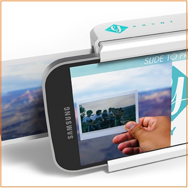 Легким движением чехла: Мгновенная печать фото со смартфона