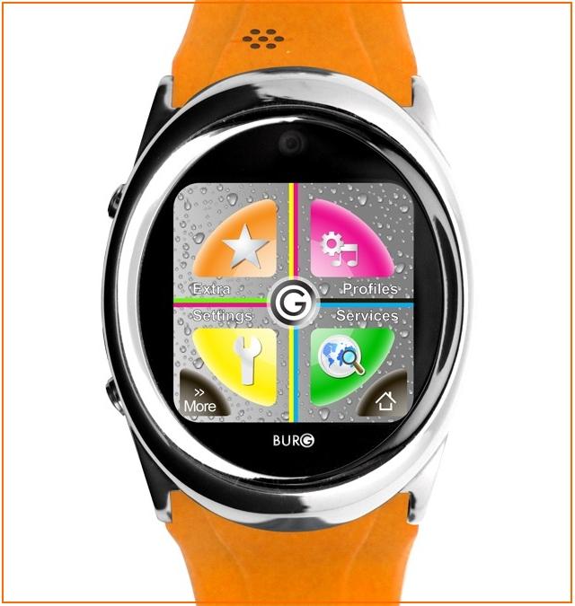 В продажу поступили высокотехнологичные часы Burg 12