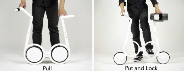 Электровелосипед Impossiblle, который вмещается в рюкзак