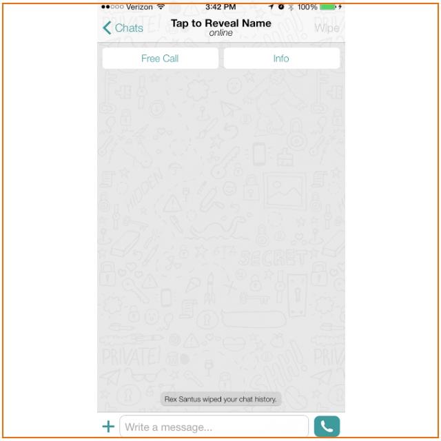 Приложение Wiper поможет удалить отправленные сообщения