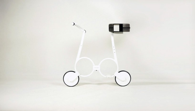 Электровелосипед Impossiblle, который помещается в рюкзак