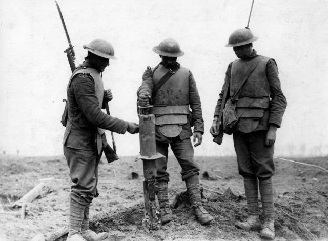 Бронежилеты Первой мировой войны. Металл Средневековья против пулеметов