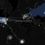Интерактивная карта хакерских атак от Norse