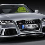 Автомобили на Android появится в 2015 году