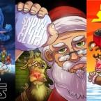 Рождественские постеры фильмов с Сантой! Хо-хо-хо, киноманы