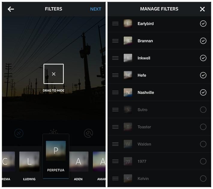 Масштабное обновление Instagram: Теперь 24 фильтра