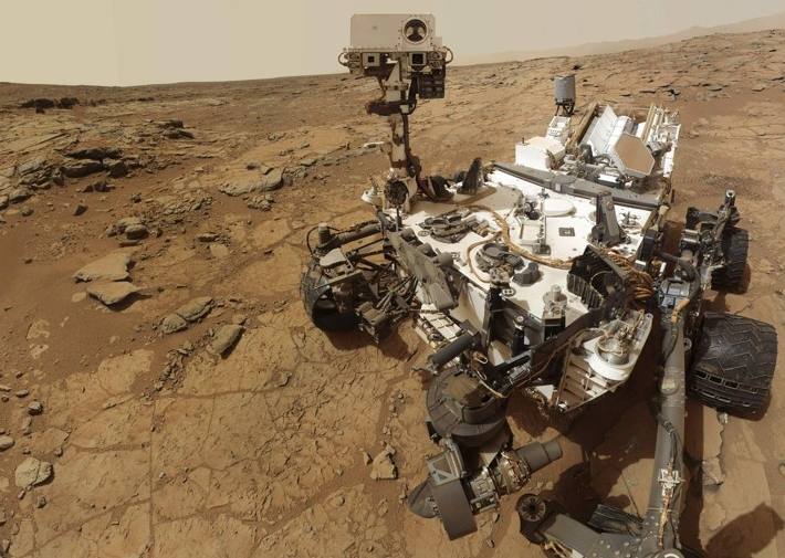2 года марсианской одиссеи за 2 минуты. Красная планета глазами Curiosity