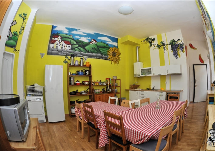 Лучший хостел Чехии: The MadHouse Hostel в Праге