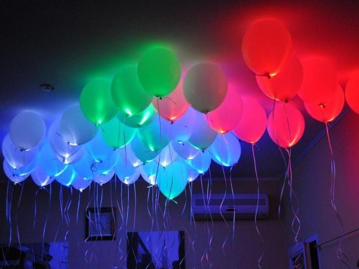 Лайфхаки: Как украсить зал воздушными шарами