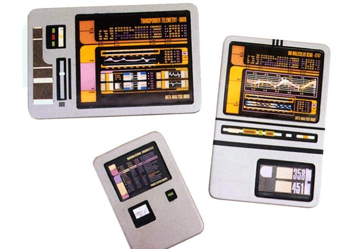 первый планшет из звездного пути «PADD»