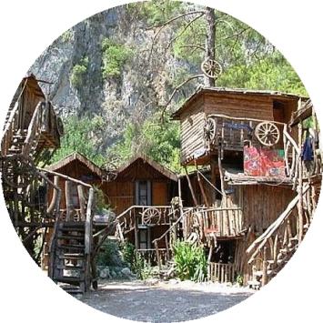 Лучший хостел Турции: Kadir's Tree House в Олимпосе