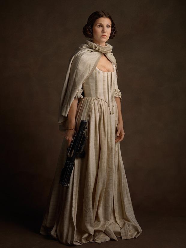 Принцесса Лея средние века