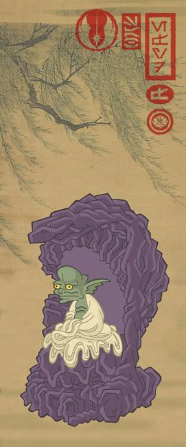 Йода в японском стиле