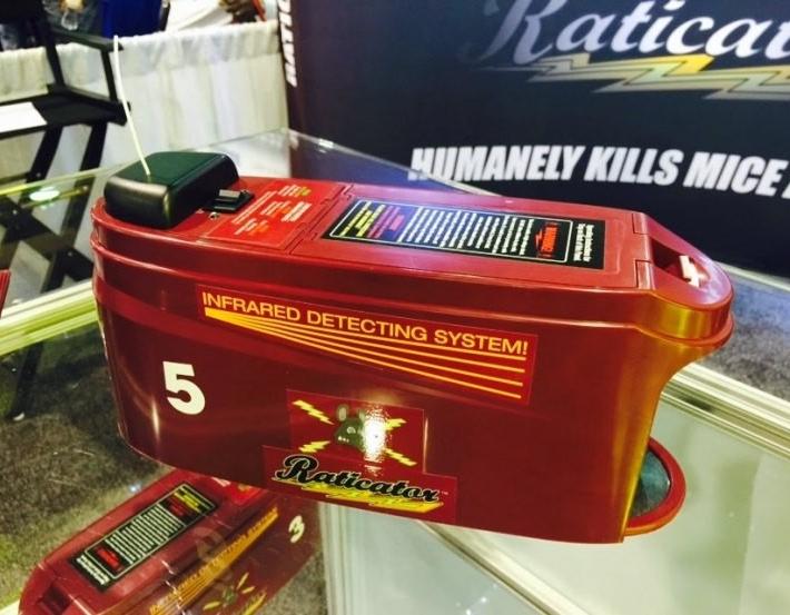 Необычные гаджеты 2015: Гуманная мышеловка Raticator