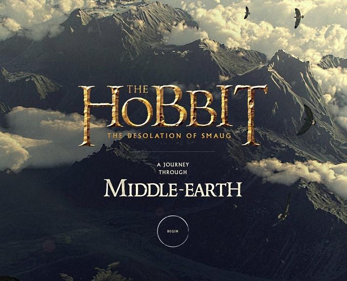 Интерактивный сайт Хоббит