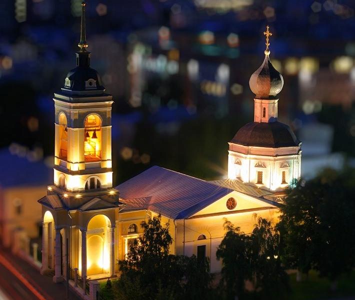 Фото как игрушечное: Москва с эффектом Tilt-Shift