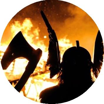 Восьмой факт. Викинги сохраняли огонь с помощью мочи и грибов