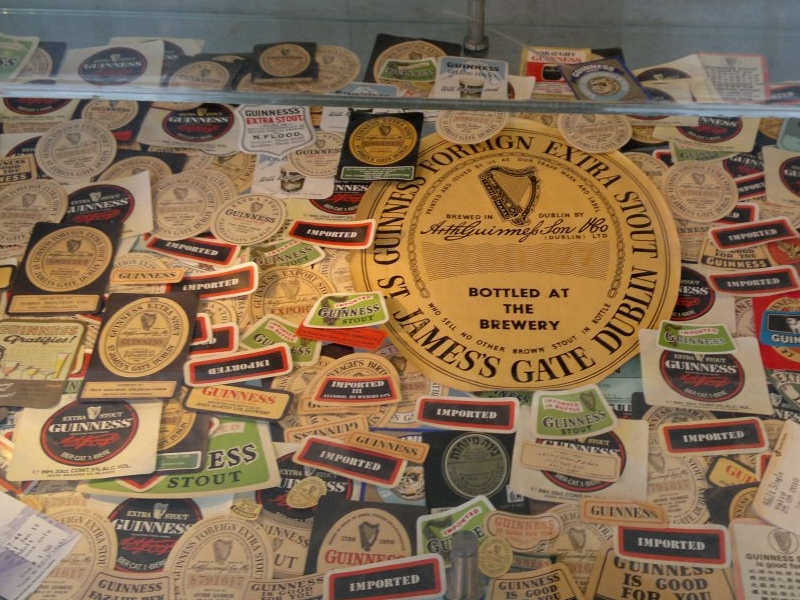 Выпей пива в месте, где варят Guinness