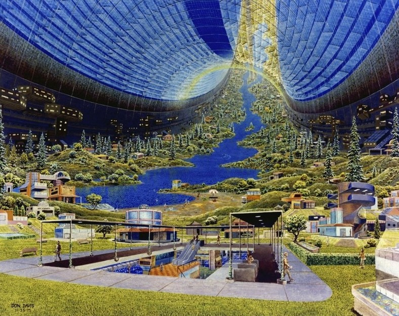 Космические станции NASA 1970