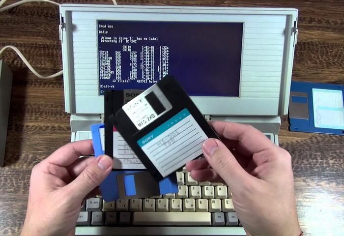 Советские ноутбуки: Электроника МС 1504