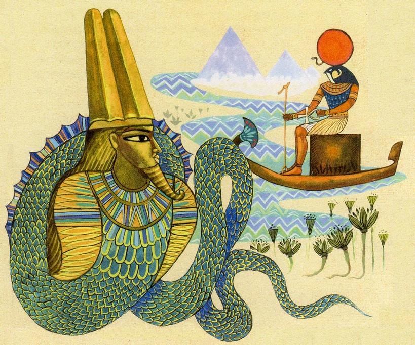 Кто создал мир: Версия египтян
