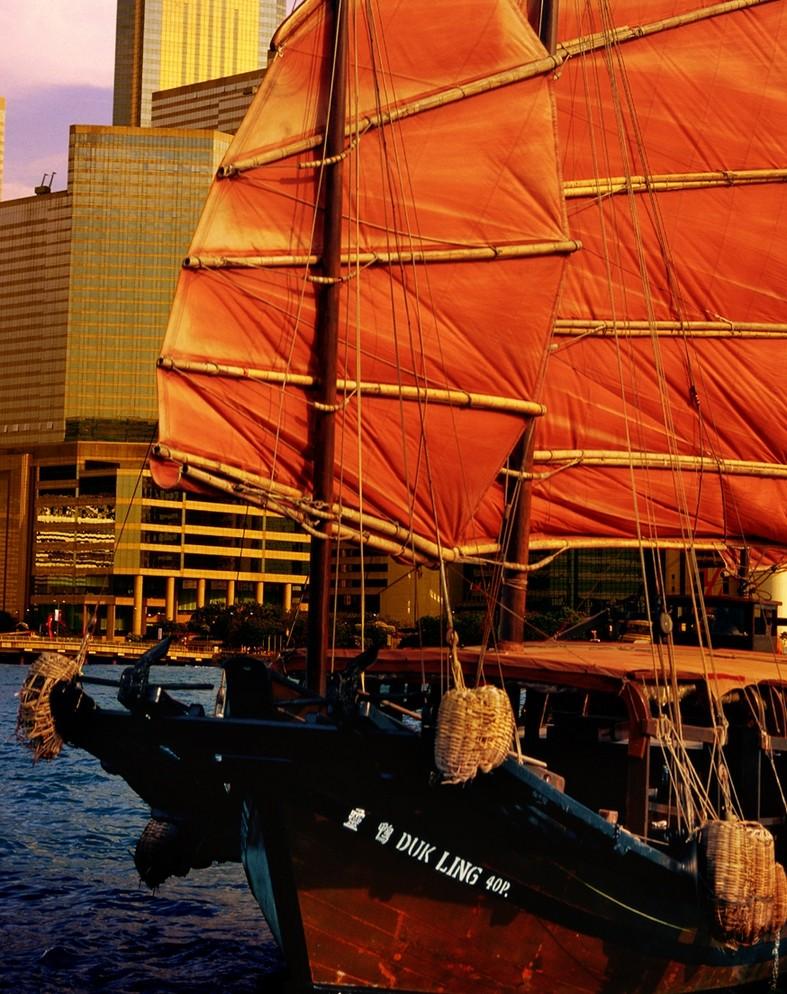 Путешествие в Гонконг: Джонка