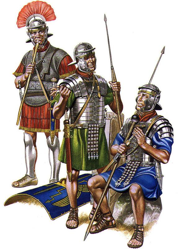 Военные технологии древних римлян: Пилум