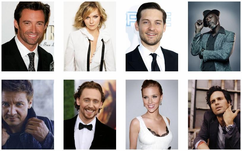 Актеры Marvel