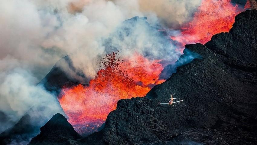 11 фотографий проснувшегося вулкана в Исландии, от которых захватывает дух