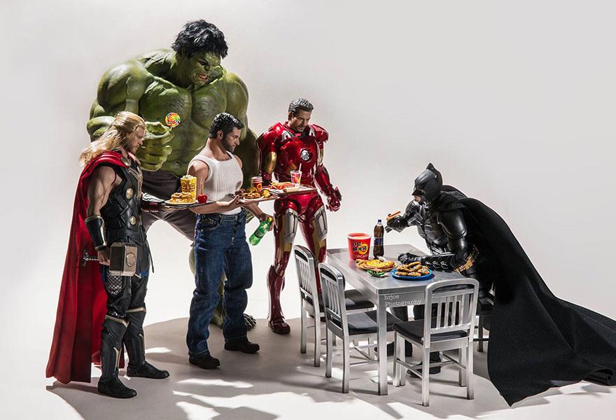 Супергерои в жизни